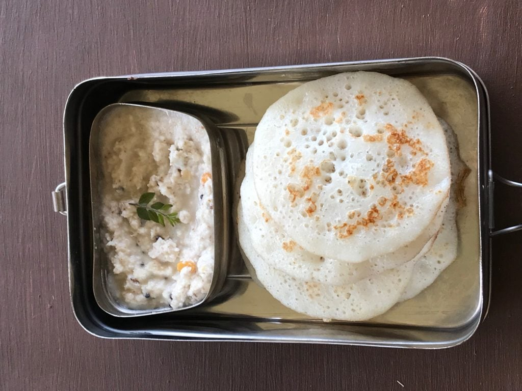 dosa for tiffin box