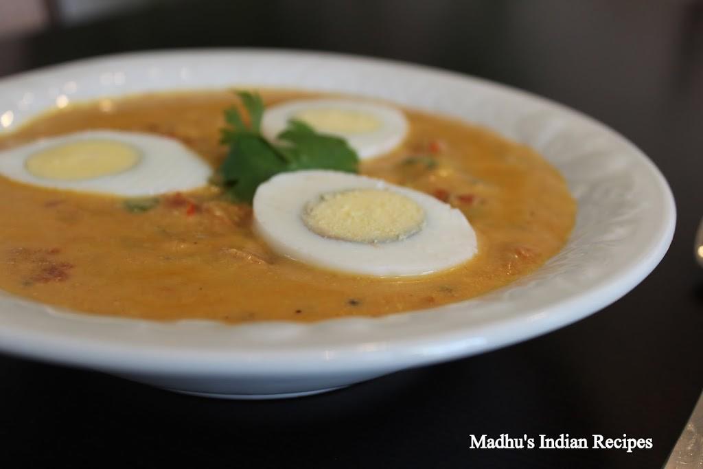 egg curry with tandoori masala