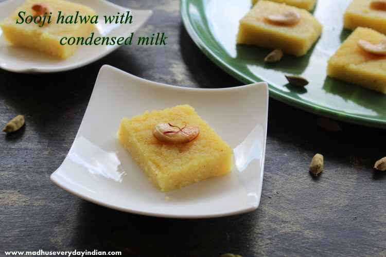 sooji halwa indian sweet