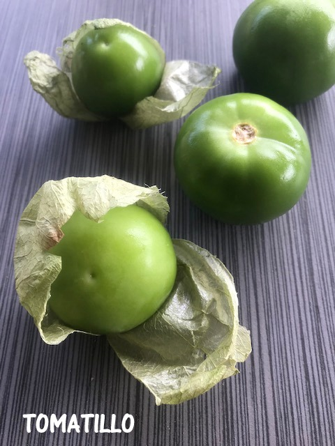tomatillo is a tangy tomato using it today to make indian dal,