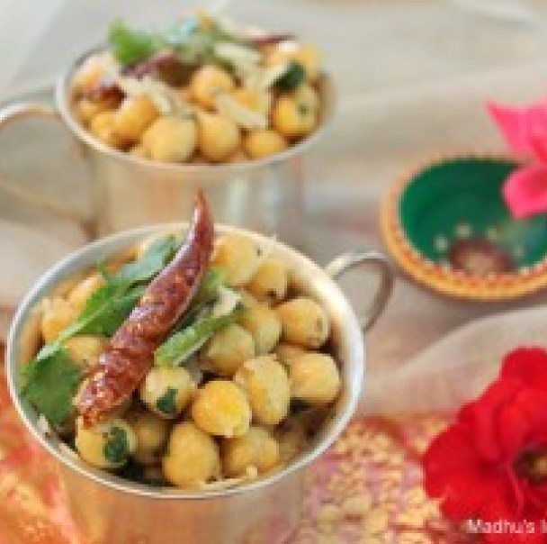 chick peas sundal as neivedyam recipe for navratri