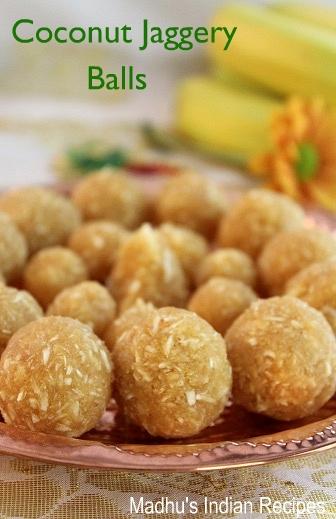 Coconut-jaggery-balls