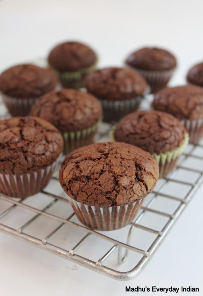 Nutella brownie Cupcakes