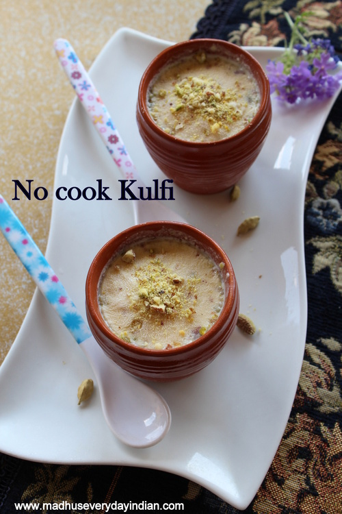 easy no cook kulfi recipe
