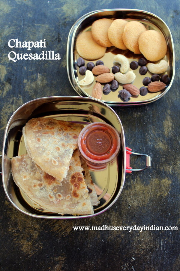 chapati quesadilla recipe