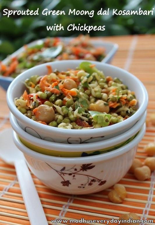 kosambari recipe with chick peas