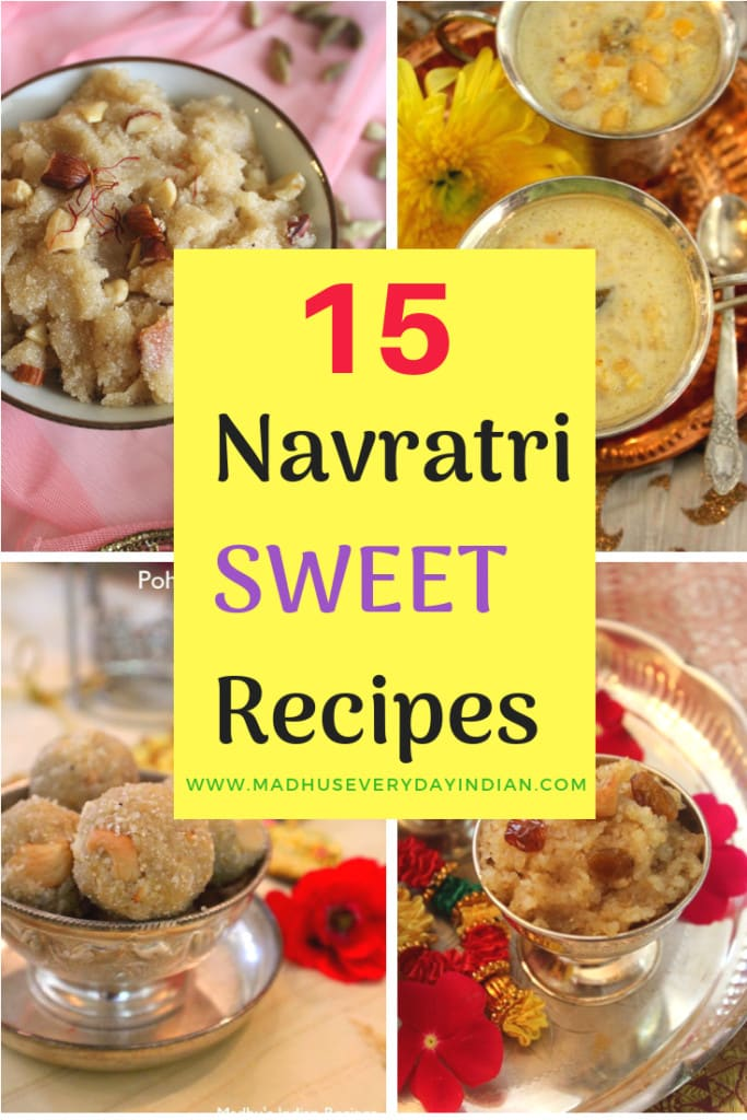 15 navratri sweet recipes