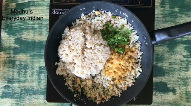south Indian coconut rice recipe