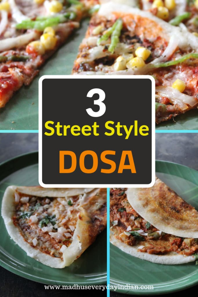 3 street style dosa recipes