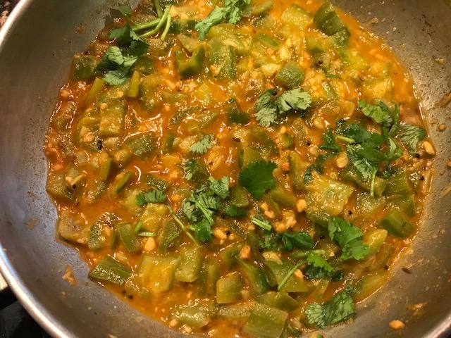 turai ki subi or beerakaya kura or ridge gourd curry