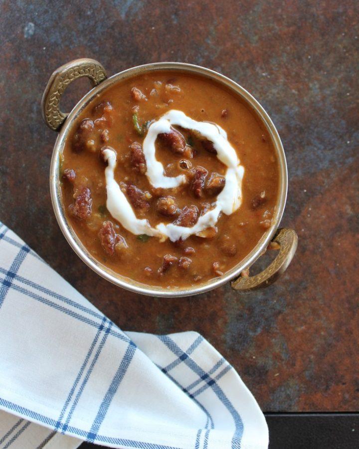 rajma masala curry
