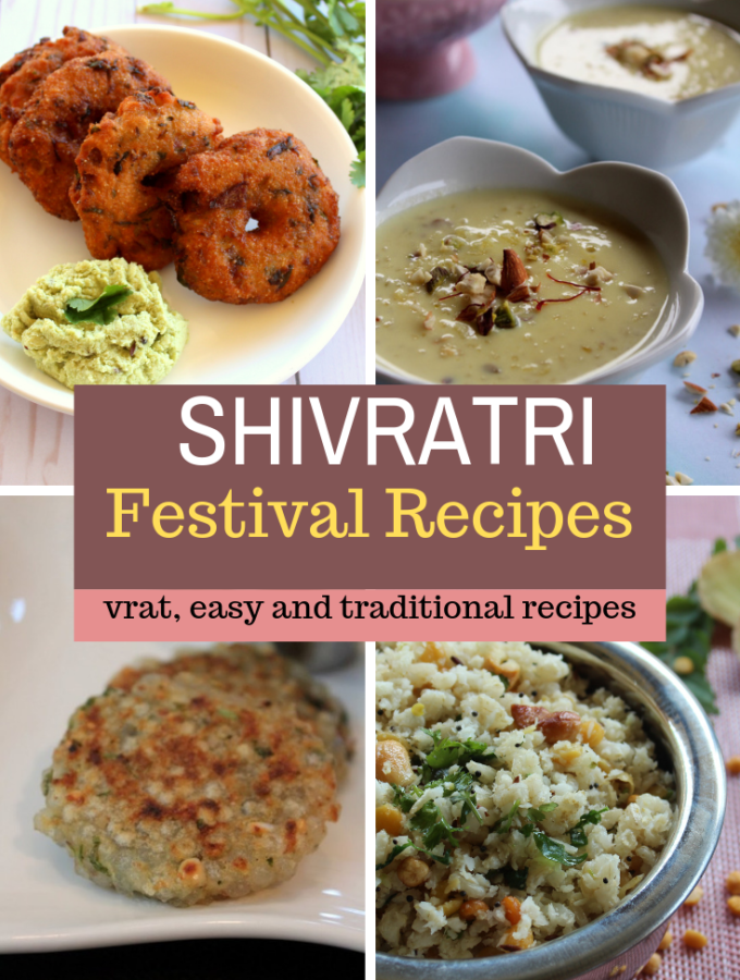 shivratri festival recipes