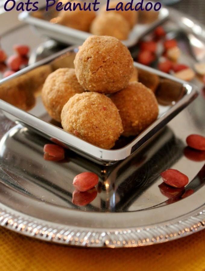 oats peanut laddu