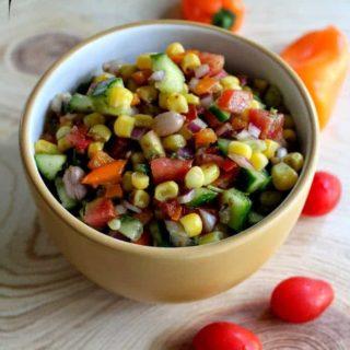 spicy corn chaat recipe