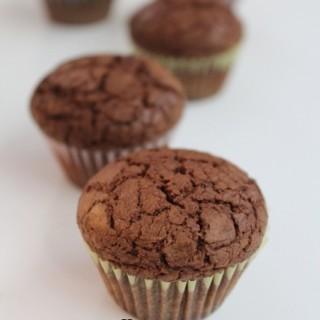 Nutella Brownie Cupcakesc