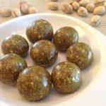 pistachio cashew energy balls
