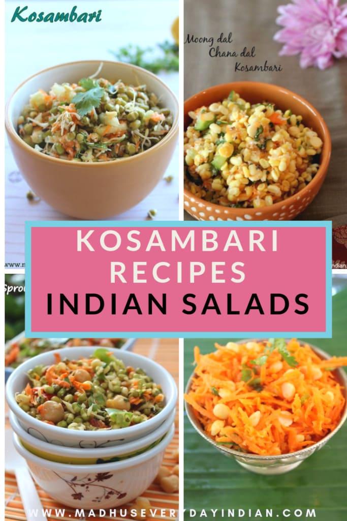 kosambari is a south indian salad