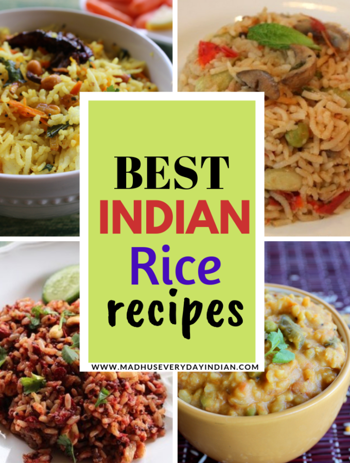 top and best indian rice recipes