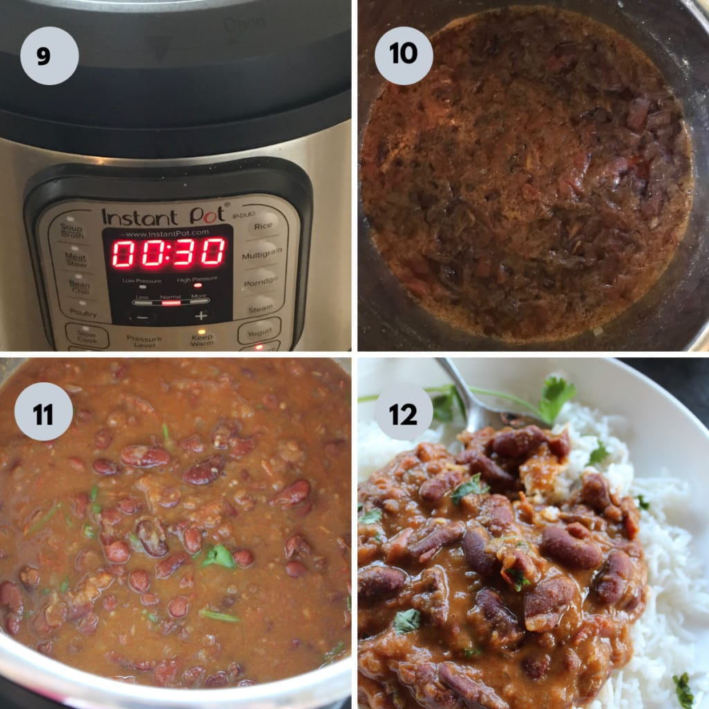 making rajma in instant pot