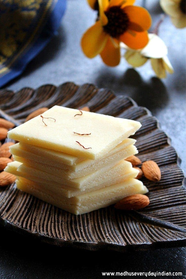 Badam Katli with Almond Flour( Instant Pot & Stove Top)