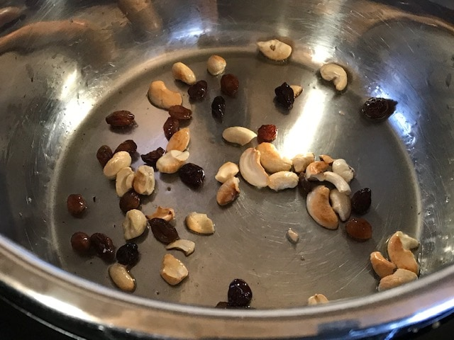 fried nuts in instant pot