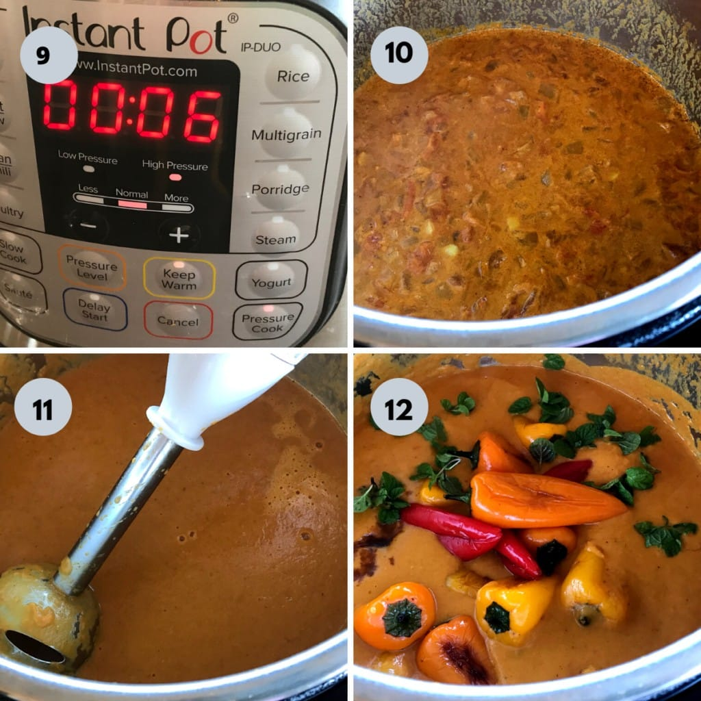 how to make bell pepper curry