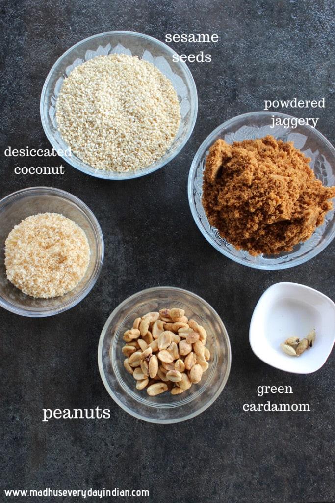 til laddu ingredients