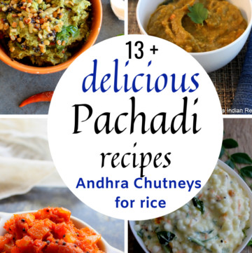 13 pachadi recipes for rice