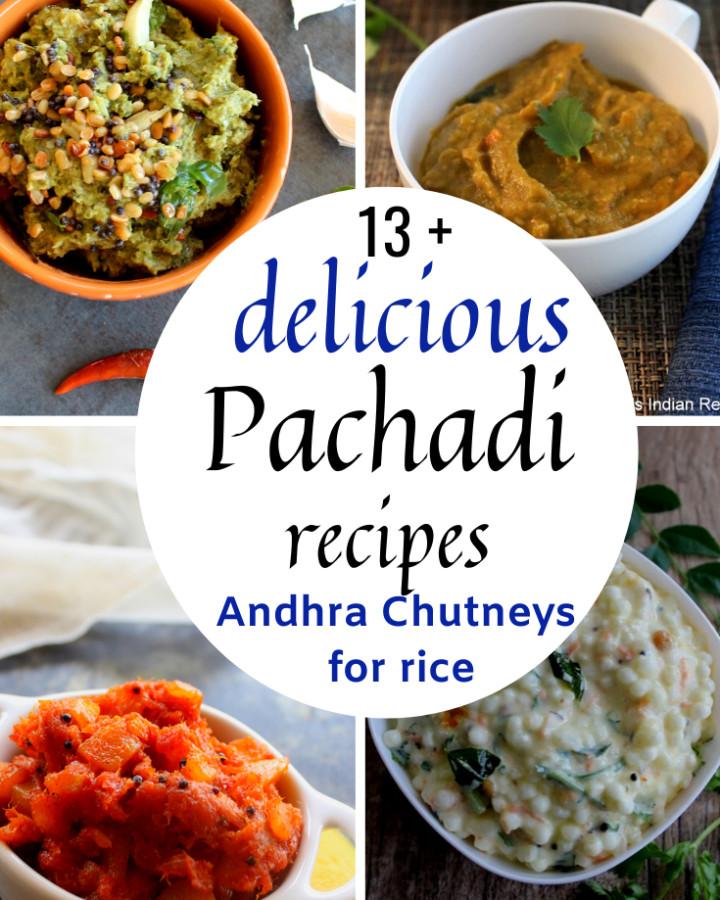 13 pachadi recipes for rice