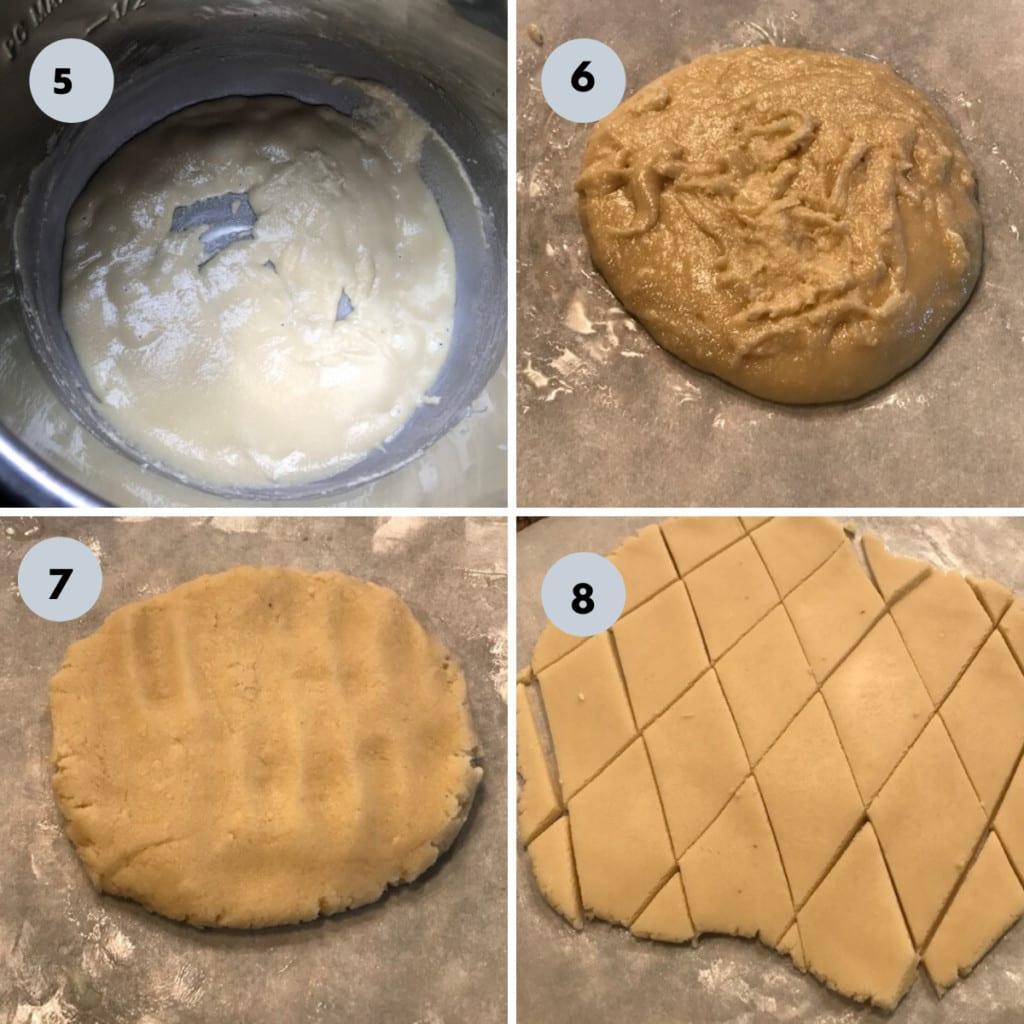 almond burfi procedure