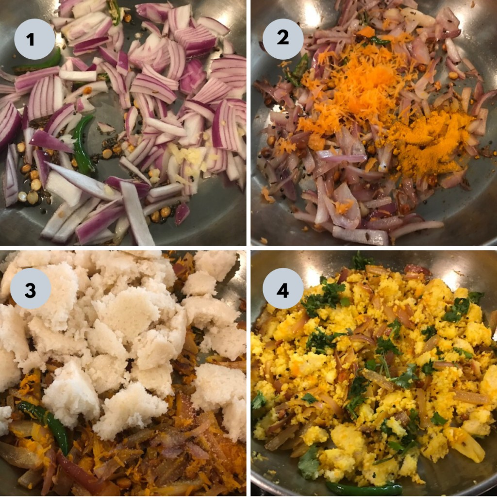 Idli upma recipe with pictures