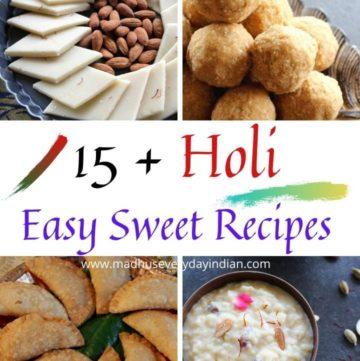 holi sweet recipes
