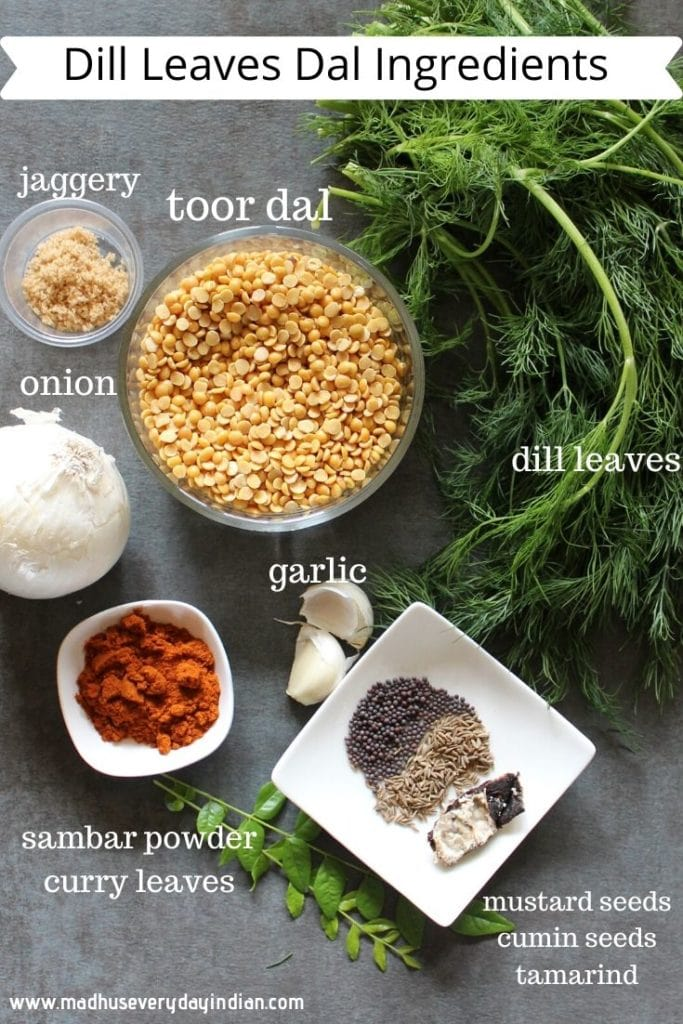 dill dal ingredients