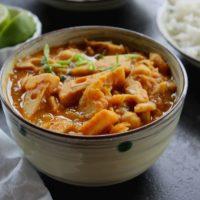 jackfruit cococnut curry
