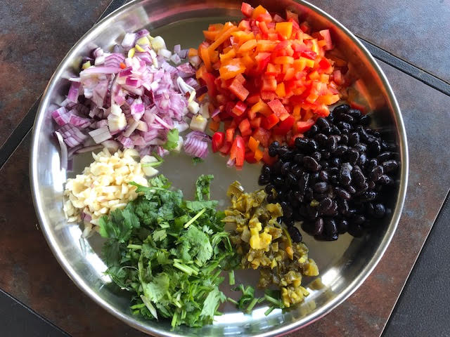 mexican rice ingredients