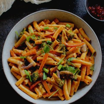 thai red curry pasta
