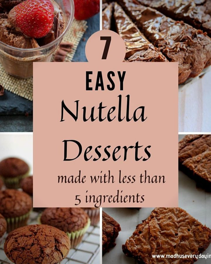 collection of nutella recipes