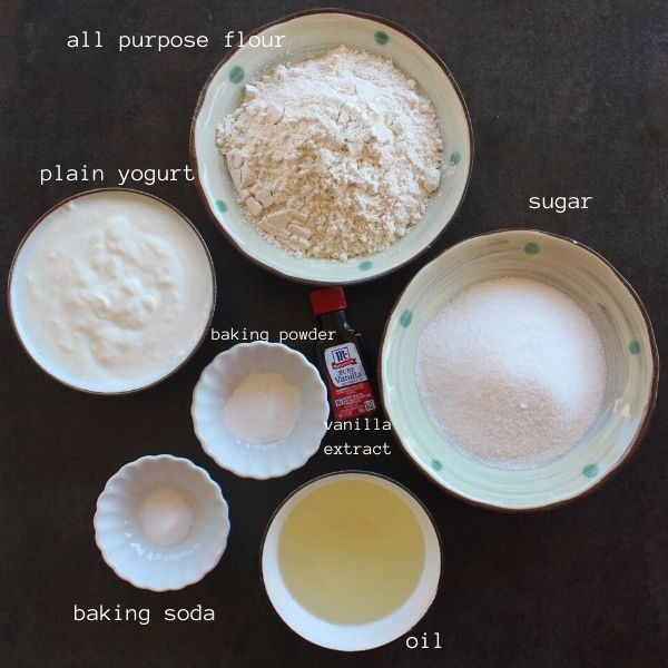 ingredients needed to make eggless tres leches cake