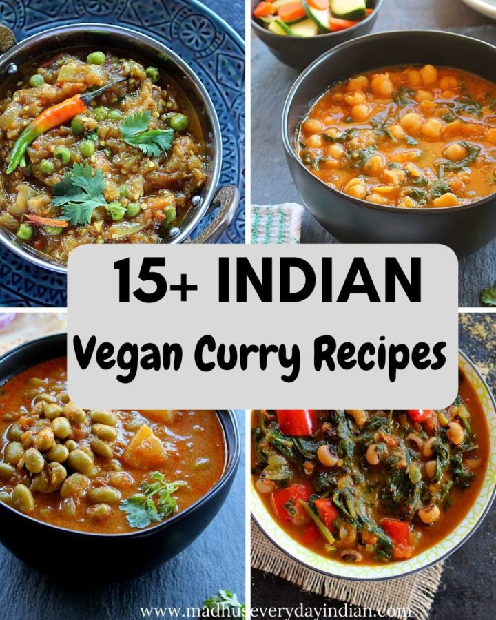 collage of indian curry recipes